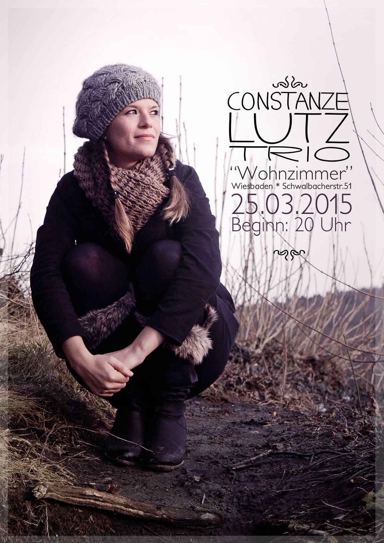 Wundervoller Wohnzimmer Abend Constanze Lutz Trio Spielt Heute Ersten Gig Mit Jam Session Als Zugabe