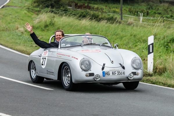 Klassik Tour Kronberg_Porsche 356