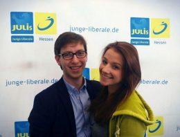 JungeLiberale_Hessen_Wiesbaden_Lucas Schwalbach - Jana Weber
