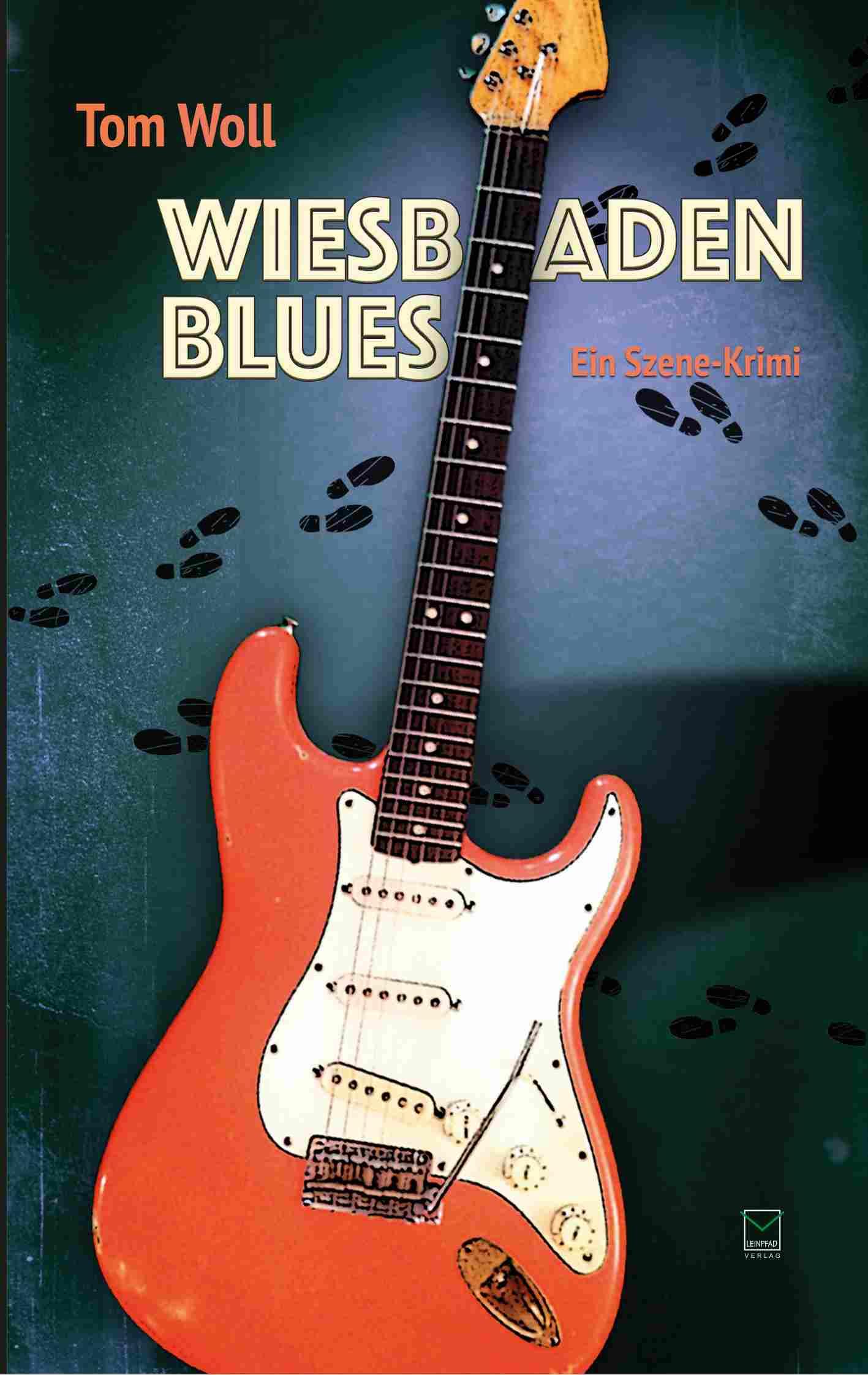 Der Gitarrengott Als Krimiautor Tom Woll Stellt Heute Wiesbaden Blues Im Wohnzimmer Vor Lesung Mit Konzert