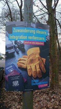 FDP_Wiesbaden_Wahlkampf_Flüchtlinge