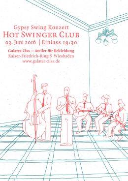 Plakat Hot Swinger Club